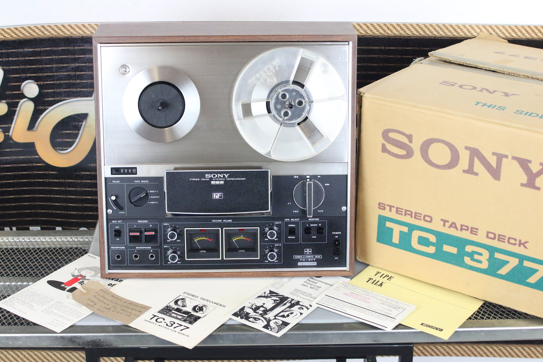 Sony T-377 reel to reel