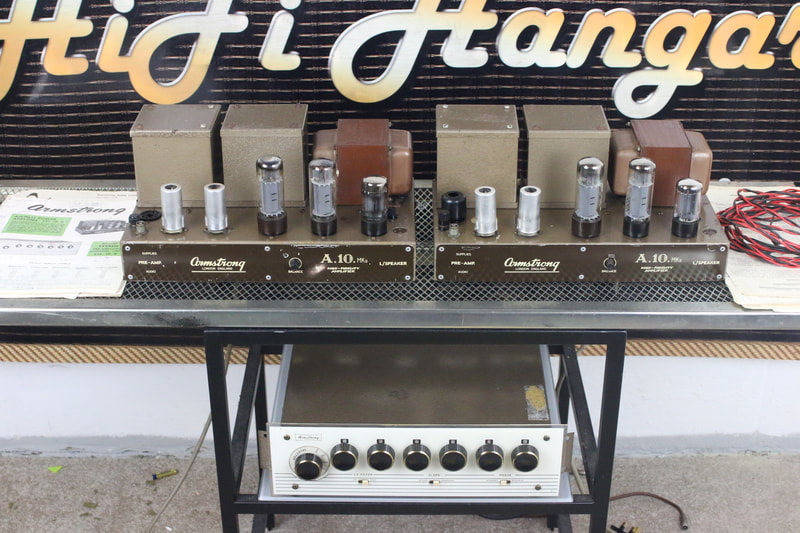 Armstrong A21 valve amplifiers