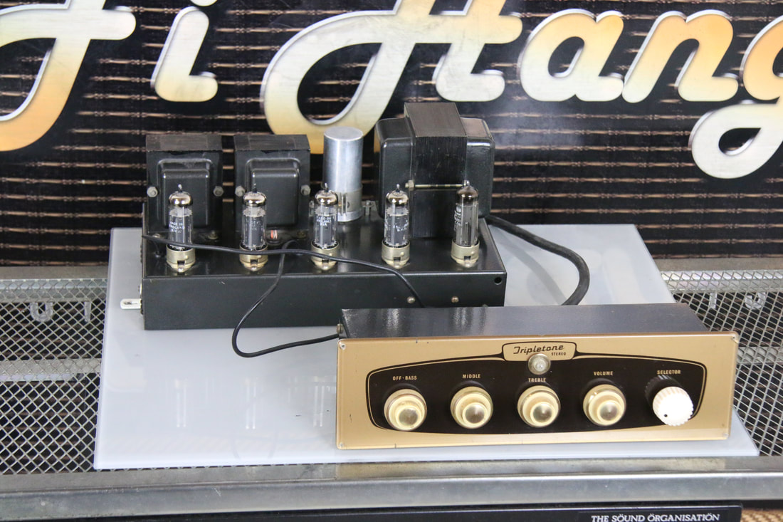 Tripletone pre & power valve amplifier